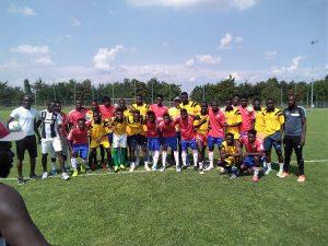 Reggio Emilia, torneo di fitness organizzato dall'associazione senegalese