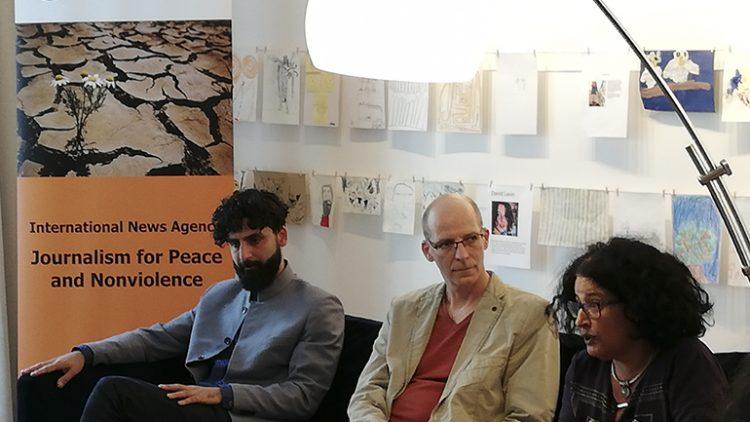 Ein Iraner und eine Israelin sprechen über Atomwaffen…