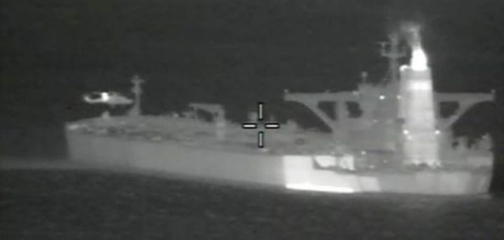 Royal Marines seize Iranian tanker under orders from US
