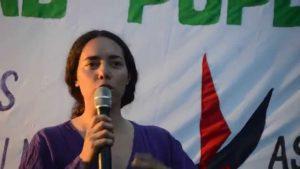 """Lorena Casco, la candidata a diputada humanista en Uruguay: """"Queremos reconstruir el tejido social rebelde"""""""