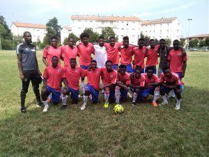 Reggio Emilia, un'altra partita amichevole tra Gambia e Senegal