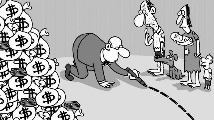 Le cercle vicieux de la concentration de la richesse