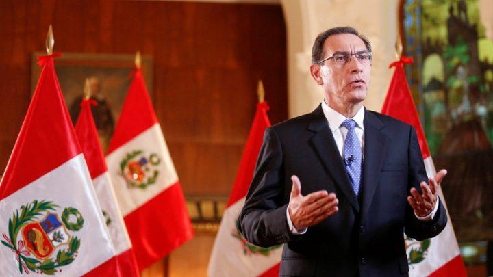El presidente de Perú propone recortar su mandato y adelantar las elecciones generales a 2020