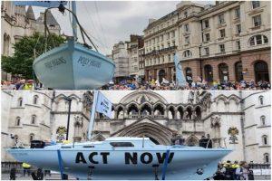 Nuevas protestas contra el cambio climático en Reino Unido