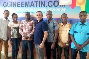 Associés de Pressenza en Guinée