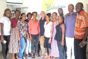Los principales medios de comunicación de Guinea colaboran con Pressenza, una invitación para otros países africanos
