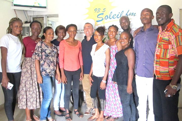 Les principaux médias guinéens collaborent avec Pressenza, une invitation pour les autres pays africains