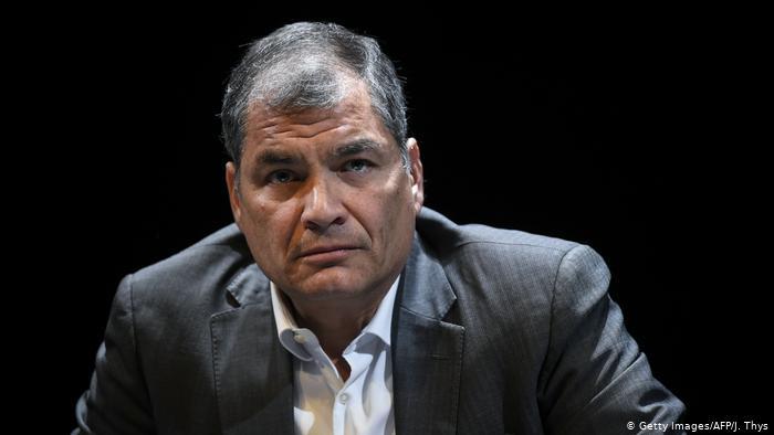 Ecuador: orden de prisión contra ex-presidente Rafael Correa