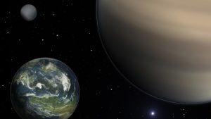 Descubren tres nuevos exoplanetas que podrían albergar vida