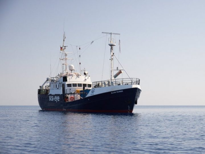 "Alan Kurdi, Sea Eye: ""Soccorsi in 40, non li riporteremo in Libia"""