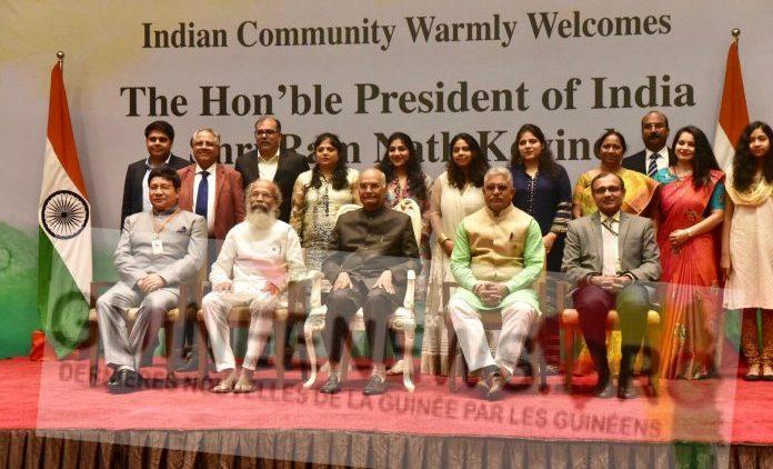Devant ses compatriotes, le président indien annonce l'ouverture prochaine d'une Ambassade à Conakry