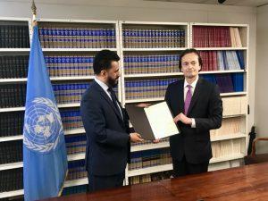 UN-Atomwaffenverbotsvertrag jetzt auf halbem Weg zum Inkrafttreten