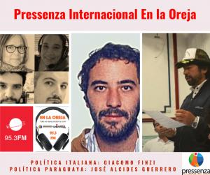 Pressenza Internacional En la Oreja 23/08/2019