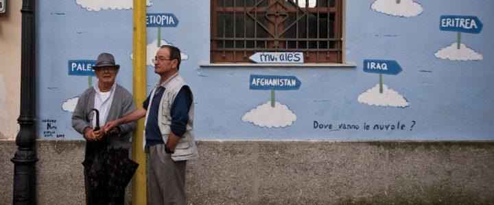 Riace e il graffito