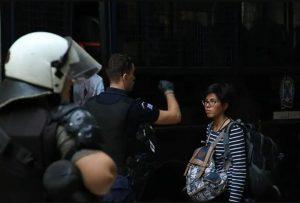 Denuncian el desalojo de personas refugiadas en Atenas