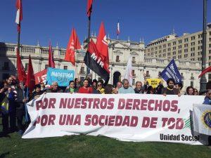 Chile: Organizaciones sociales convocan a jornada de protesta nacional el 5 de septiembre #NosCansamosNosUnimos