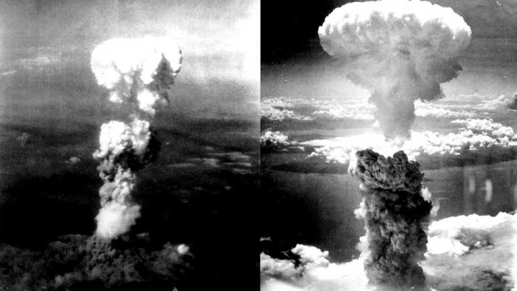 Esposioni bombe atomiche a Hiroshima e Nagasaki