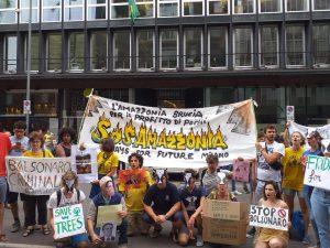 Incendi in Amazzonia, oggi proteste di Fridays for Future in Italia e nel mondo