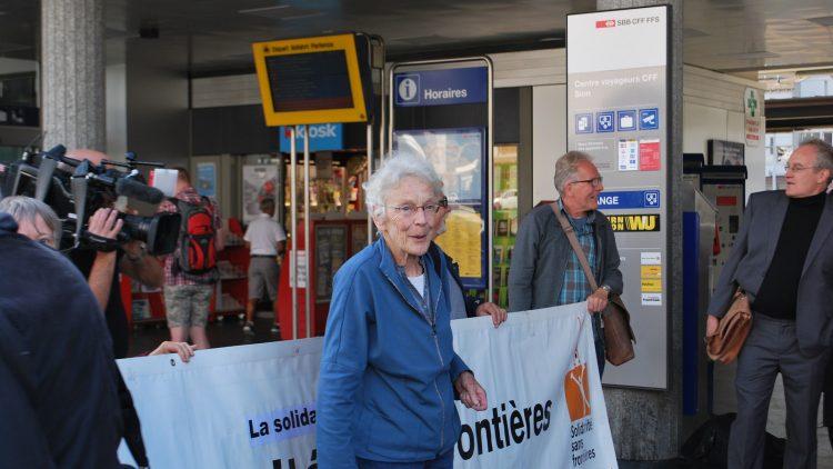 Kriminalisierung der Solidarität - Enttäuschender Entscheid gegen Flüchtlingshelferin Anni Lanz