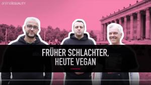 Früher Schlachter, heute vegan: drei ehemalige Fleischer packen aus