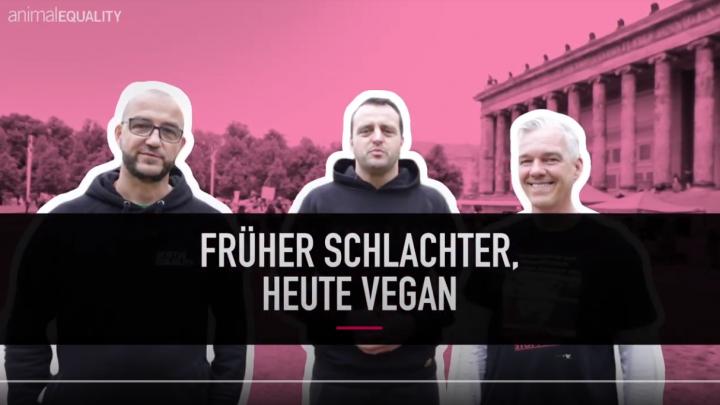 Drei starke Männer erzählen, warum sie aus der Branche ausgestiegen sind und was uns die Fleisch- und Milchindustrie gerne verheimlichen möchte.Gemeinsam kämpfen sie jetzt für Tierrechte und haben die Kampagne #IchBinDabei ins Leben gerufen.