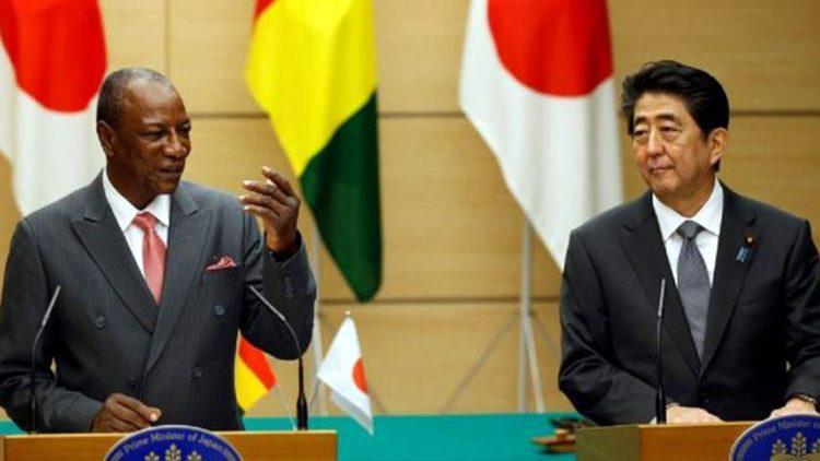 TICAD7 : Pr Alpha Condé et Shinzo Abe se sont entretenus