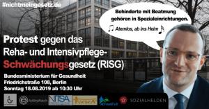 Jens Spahn will häusliche Behandlungspflege streichen – Beatmungspatienten sollen ins Heim