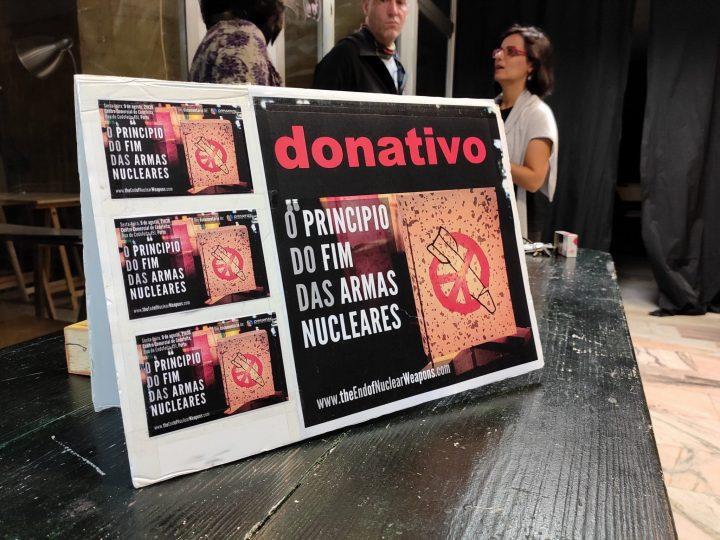Estreno en Portugal de «El principio del fin de las armas nucleares»