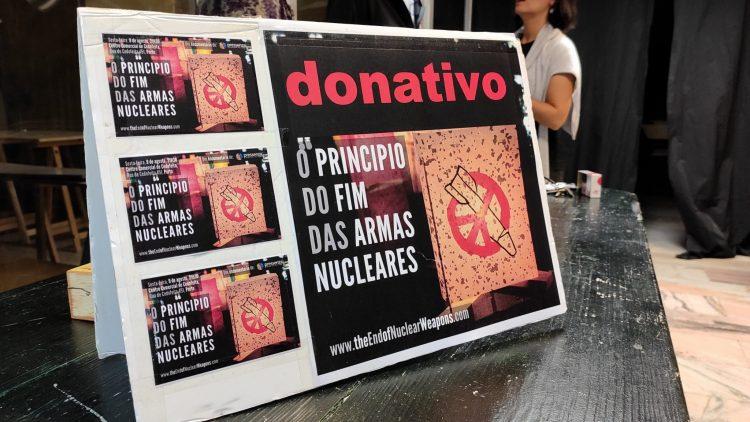 Estreia em Portugal, O princípio do fim das armas nucleares, Porto, Portugal, 9 agosto 2019