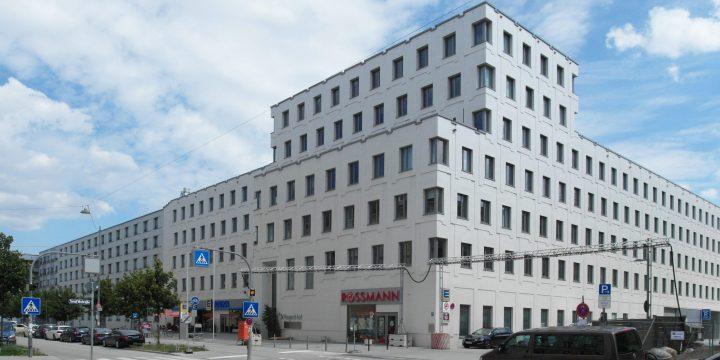 """Die """"Welfenhöfe"""" im Münchener Stadtteil Haidhausen – eine typische Bauträger-Wohnanlage aus den 2010er-Jahren"""