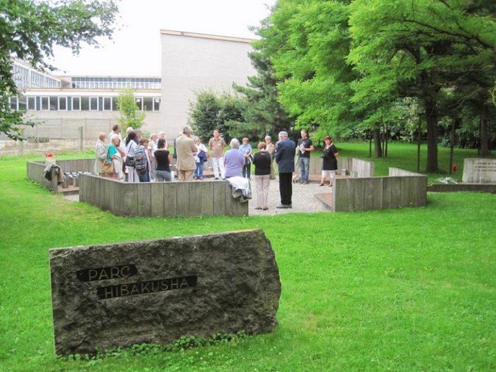 [Parc Hibakusha à Mons] Commémoration Hiroshima Nagasaki. « Une tentative appelée Humanité »