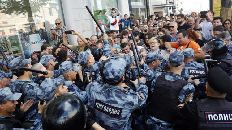 Russia: le recenti proteste a Mosca