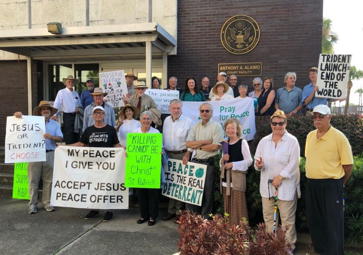 Federal Judge Hears Kings Bay Plowshares' Motion to Dismiss Charges Under RFRA