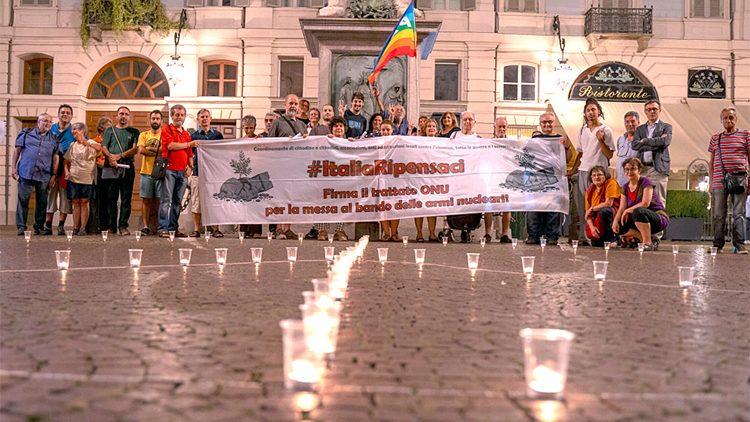 A Torino commemorazione delle vittime di Hiroshima e Nagasaki: richieste di disarmo atomico