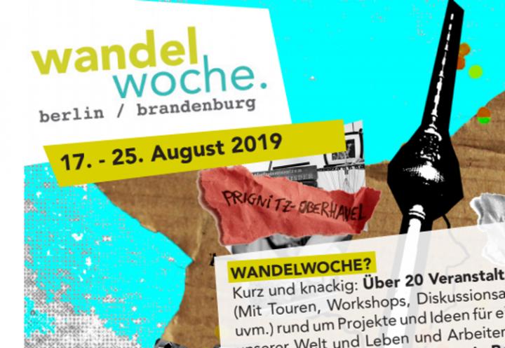 Wandelwoche 2019 in Berlin und Brandenburg