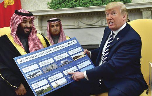 'Le armi per gli amici sauditi non si toccano', veto di Trump, e poi Kim