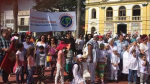 2ª Caminata por la Cultura de Paz en Cotia, recibe el apoyo de la 2ª Marcha Mundial por la Paz y la No-Violencia.