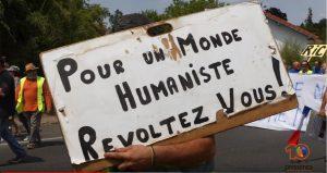 Marche Citoyenne des Gilets Jaunes à Langon, en Gironde