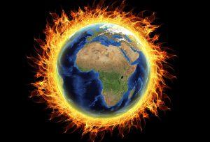 La tierra, 4 grados más caliente