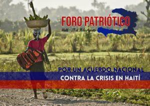 Haití: por un acuerdo nacional contra la crisis