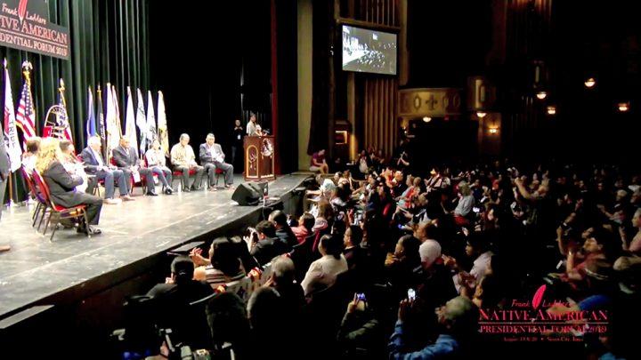 Foro debate entre candidatos a presidente y comunidades indígenas en Estados Unidos