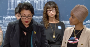 Banned From Israel, Ilhan Omar and Rashida Tlaib Hold Press Conference to 'Humanize' Palestinian Experience Under Occupation