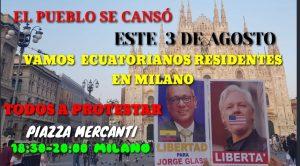 Il 3 Agosto Milano in Rivoluzione scende in Piazza per Glas