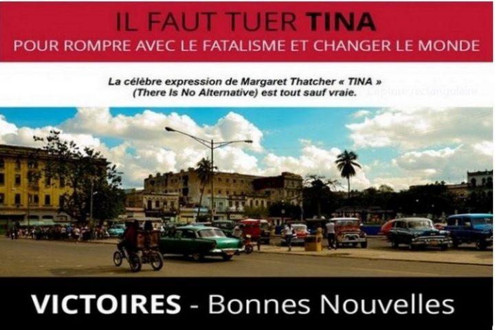 Pour nous donner du courage, TINA : Les victoires sociales et écologiques de mars 2020