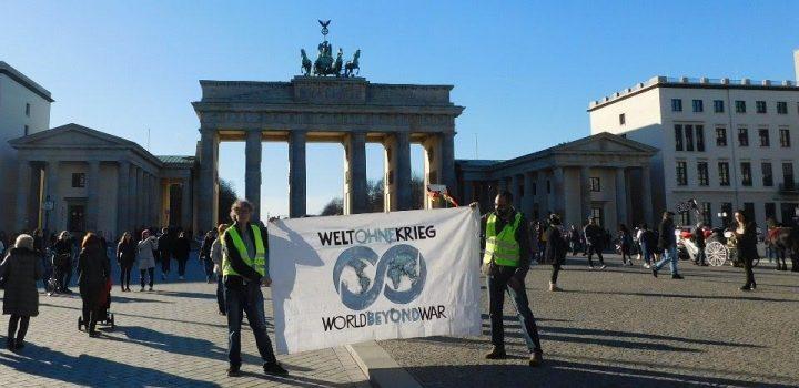 Deutschland darf sich nicht an die Seite der kriegsführenden Nationen der Welt stellen
