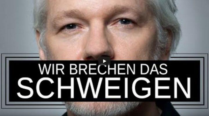 Die deutsche Friedensbewegung fordert Solidarität mit Julian Assange!
