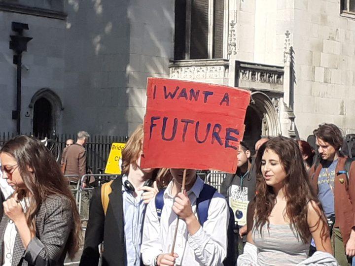 Huelga mundial por el clima en Londres y en el mundo
