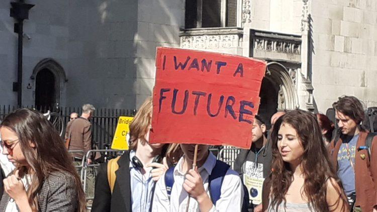 Grève climatique mondiale à Londres et dans le monde