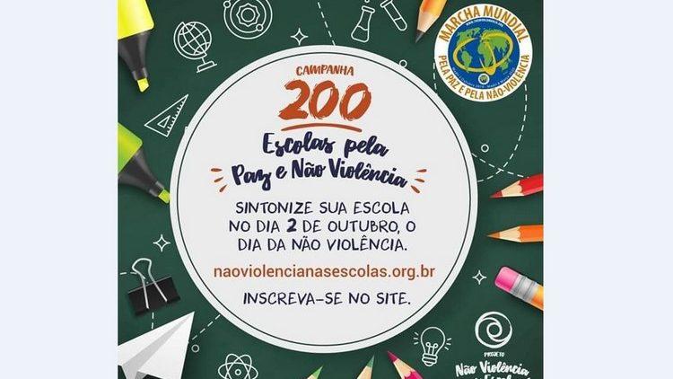 Brésil. 200 écoles qui promeuvent la Paix et la Nonviolence