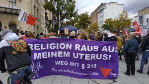 Schwangerschaftsabbruch raus aus dem Strafgesetzbuch!